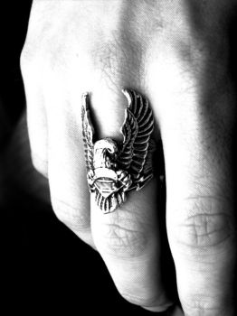 myhand_and_eagle by gunesveay