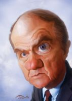 karl Malden Caricature by StDamos