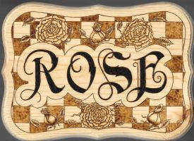 Rose Pyrography 2014 by boogie72