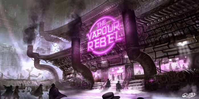Vapour Rebel by Ultragriffy