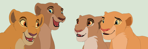 Chatty Lionesses Base by ChubNarwhalBases