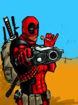 one more Deadpool by AndgIl