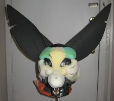 Fennec Mask WIP 2 Face by Monoyasha