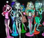 Skull Shores Dolls by JadeJeebie