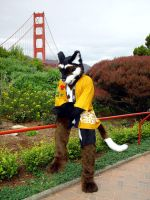 Erios at the Golden Gate by Tioh