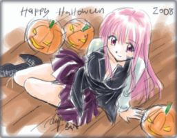 Happy Halloween 2008 by BaNSaMa