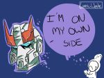 Prowl-I'm on my own side by CosmicWaste
