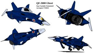 QF-3000 Ghost by kevarin