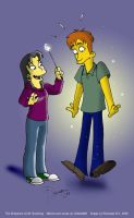 The Simpsons: Violeta960 Trade 3 by The-StarDog