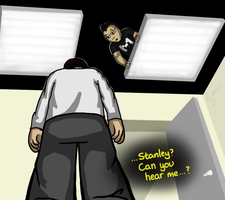 Markiplier Stanley Parable by Kootiepatra