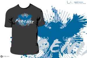 Phoenix T-shirt Design by FT69
