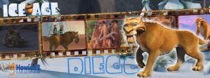 Diego | Ice Age - Timeline Facebook by Howie62