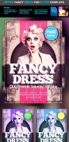Fancy Retro PSD Flyer Template by quickandeasy1