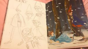 Over the garden wall by matany-matany
