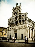 Duomo in Lucca, Italy 2008 by slcrawford