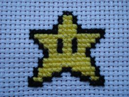 Star Cross Stitch by Jezebel-Jay