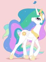 Princess Celestia by GilgameshforEternity