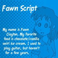 Dubmarine fonts: Fawn Script by vicfieger