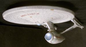 USS Enterprise-A Underneath by Roguewing