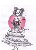 BurtonSpam/Art trade/onlyjess by Mrs-Lovett-da-Pirate