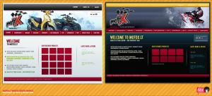 MotoX.LT Website Layout Pitch by nofx