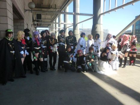Seraph of the End meet up by AlexMinazukiBC6
