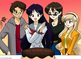 Happy Birthday Rei Hino! by ArthurT2015