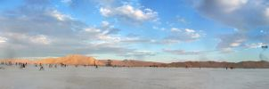 Burning Man Panorama by brady531