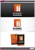 iconic investments branding by crezo