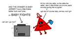 Bill watches baby fights by ABtheButterfly