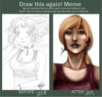 Draw This Again- Oh God... by Zaphodiop