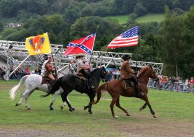 Rodeo riding show, Llangollen, 2007 by MadDan