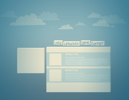 Template for Deezine.fr (WIP) by lithium-sound