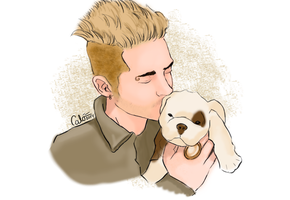 The Puppy by DysfunctionalHuman