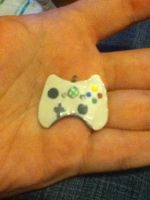 Xbox 360 Controller Clay Charm by naruto6393