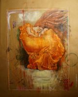 Flaming June after Leighton by zyphryus