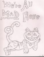 We're All Mad Here by CandleGhost
