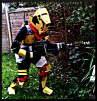 Destiny Cosplay: Titan (On the move) by UnknownEmerald
