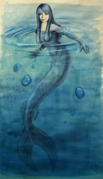 Meramid in blue by lucy7777