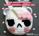 Animal Crossing Marshal bag - free crochet pattern by hellohappycrafts