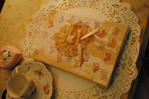 baby doll sketch journal by ccaammoo