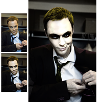 Jim Parsons. Sheldon. Joker. by Rniris