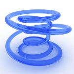 Blue Rotating Spiral HQ by Spielehorst