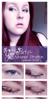 Adrianne Stratton Makeup Tutorial by yay-party