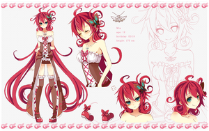 Ref sheet - Mia by Merollet
