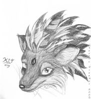 Miss Foxfire by chaoticdreamer