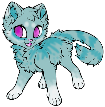 Cat adopt 2 (10 points) by PentTheCat