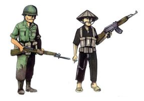 Soldiers. 1965 by didism