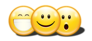Kemo big emoticons pack by user94
