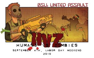 Humans Vs Zombies Promo by Cat-Bat
